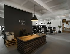 Pride&Glory Interactive office by Morpho Studio Dezeen #office #space #work