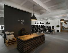 Pride&Glory Interactive office by Morpho Studio Dezeen