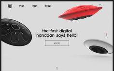Oval Sound digital experience on kickstarter webdesign minimal nice beautiful designblog mindsparklemag
