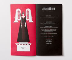 Victoria Symphony 2012/13 on Behance #illustration #brochure #clean