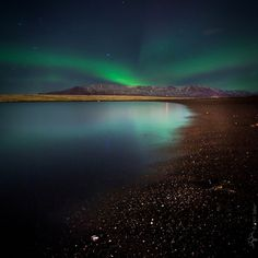 KRISATOMIC #night #borealis #iceland #aurora