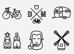 Dutch Mafia Project #font #netherlands #design #icons #dutch