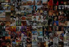 Website - Rodrigo Castro on the Behance Network #brazil #mosaic #webdesign