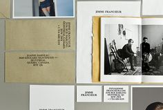 Jimmi Francoeur by Studio Beau #brand identity #brand design #stationary