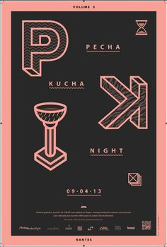 PECHA KUCHA NIGHT #kucha #pecha #night #poster