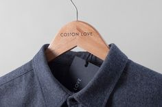 Cotton Love Hanger #logo