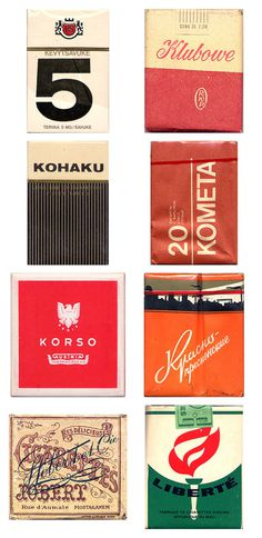 Cigarette Packaging