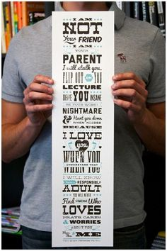 type lovers:A Parent's Promise — Joel Felix #poster #type #texture