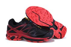 Salomon XT Wings 3 Trail Running Shoes Black Red