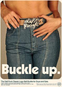 Daft Punk #buckle #punk #belt #daft #up #1980s