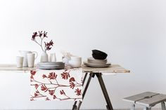 Inspiration | Ink & Spindle #interior #pattern #furniture #kitchen #textile #table