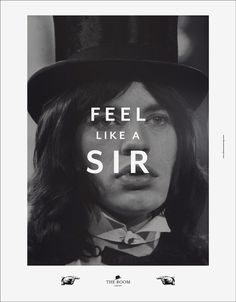 THE ROOM on the Behance Network #british #jagger #room #english #mick #the #gentlemen #gentlemens #club