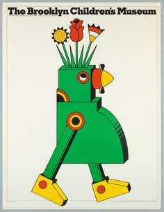 Poster, The Brooklyn Children's Museum, 1977 — Seymour Chwast