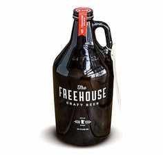 The Freehouse Growler #packaging #beer