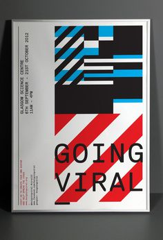 Going Viral by Graphical House #poster