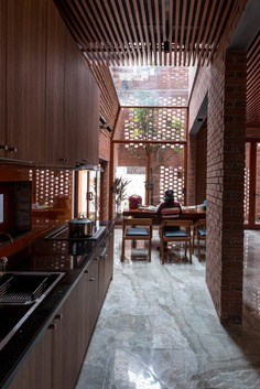 kitchen by Vietnamese Studio H&P Architects