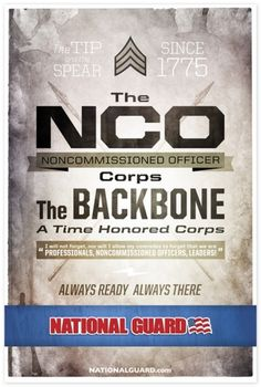 National Guard | various posters on the Behance Network #guard #racepony #national #nco