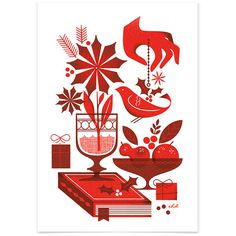 1326401098HolidayCard_3 #illustration #holiday