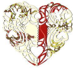 FFFFOUND! | Marian Bantjes: valentines 2010 #paper