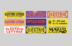 Electric lettuce / OMFGCO