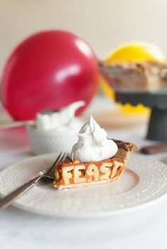 Typeworks 113 - Typography Pie #food #typography