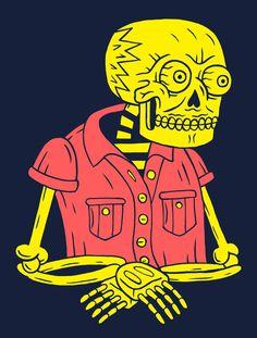 Poltergeist #skull guy