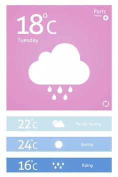 Pink weather interface with clouds Free Psd. See more inspiration related to Design, Pink, Mobile, Clouds, Weather, Psd, Material, Interface, Vertical and Psd material on Freepik.