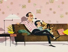 Vintage Ads of the 1950s #daughter #father #and