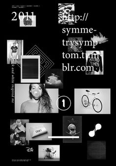 Symmetry Symptom on the Behance Network #poland #blazewicz #poster