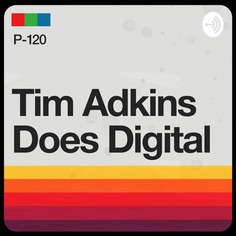 This is the new logo for my podcast, Tim Adkins Does Digital. #podcast #retro #vcr #throwback #logo