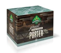 Summit Brewing Porter Case #packaging #beer