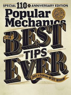 Amazing Typography & Illustrations by Jordan Metcalf | Abduzeedo | Graphic Design Inspiration and Photoshop Tutorials #type #vintage #poster #typography
