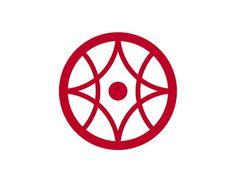 Kanji town icon, Japan #logo