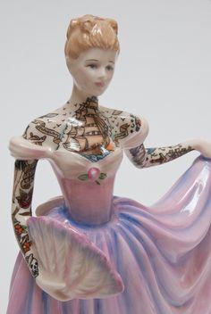 Jessica Harrison #art #art work #porcelain #old #tattoo