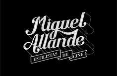 Miguel Allande Branding #typography