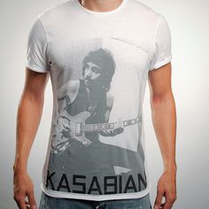 Kasabian T-shirt #fashion #t-shirt #graphic #design