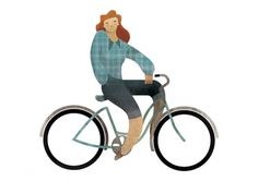 Andrew Lyons #bicycle #illustration #vector #bike
