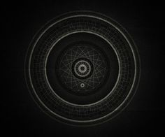 Inner space on Behance #branco #mandala #white #black #and #e #preto