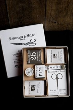 (minandtonic: (via Package / merchant & mills...) #packaging #identity