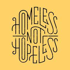 Rike Homeless #illustration #typography