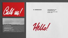 El Sembrador #lettering #business #branding #card #cafe #futura #logo #letterhead #typography