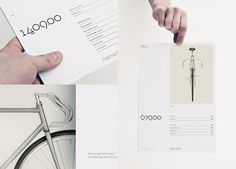Hojmark Cycles brand identity #typography #brand #bicycle