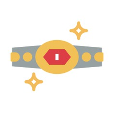 See more icon inspiration related to belt, champion belt, sports and competition, champion, boxing, winner and trophy on Flaticon.