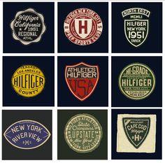 Glenn Wolk Badges For Tom Hilfiger
