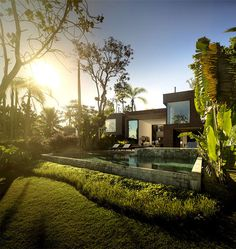 Luxurious and Sophisticated Spirit of Brazilian Weekend Home weekend house garden #pool #architecture #house #home