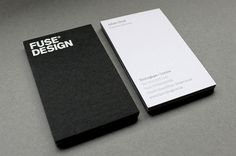 fuse #white #branding #design #letterpress #black #and