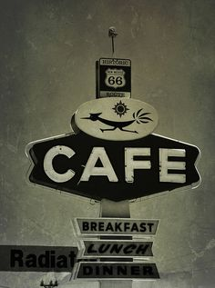 Roadrunner Cafe #mark #sign