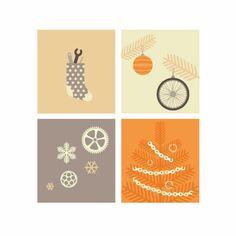 Zaczarowana Walizka #wheels #vector #bicycle #tree #graphics #snow #christmas #chain #bike #cycling #sock