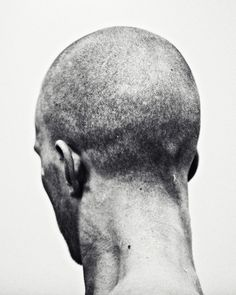 This happens all the time. #photography #black and white #man #head #male #sears #neck