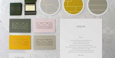 noun restaurant identity branding brand logo deluxe luxury visual corporate design best graphic modern minimal simple clean beauty beautiful